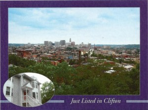 Cincinnati Real Estate Marketing Postcard