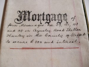 a copy of a mortgage note