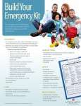 Build Your Home Emergency Kit
